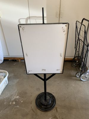 Weighted Outdoor Sign Holder for Sale in Vista, CA