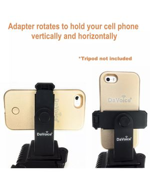 Universal Smartphone Tripod Adapter Holder Mount For Apple iPhone 8 / 8 Plus for Sale in East Los Angeles, CA
