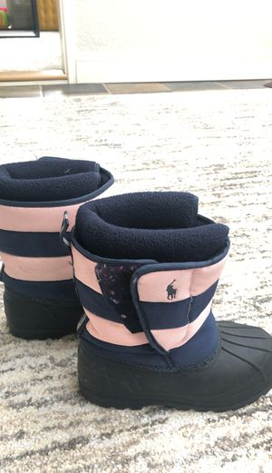 Polo kids snow boot - size 11 for Sale in Newcastle, WA