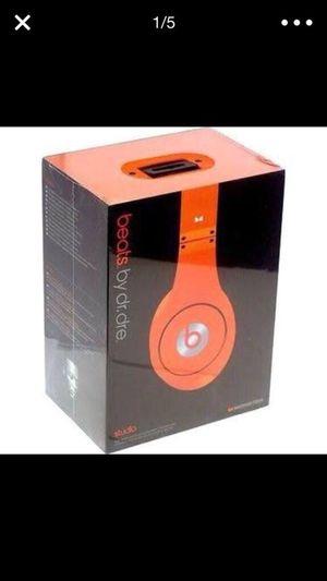 Orange Studio Quality Beats by Dre Headphones for Sale in Nashville, TN
