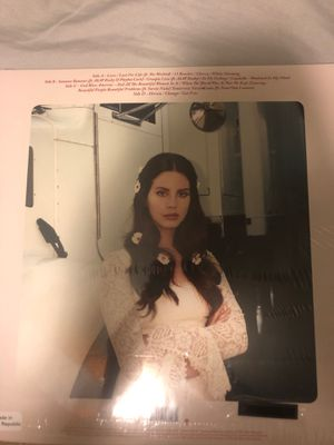 "Lana del Rey ""lust for life"" record vinyl NEVER OPENED OR USED for Sale in Riverside, CA"