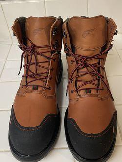 Brand New Red Wings Work Boots For Men. Size 13. Steel Toe. Waterproof for Sale in Riverside,  CA
