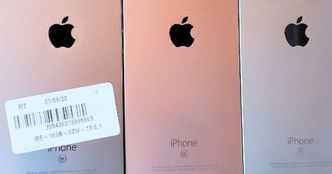 Unlocked iPhone se 16GB or 32GB wholesale lots of 5 fantastic condition for Sale in Miami,  FL