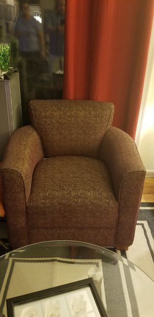 MUST SELL BY THIS WEEKEND MAKE ME A DEAL Pair of Club Chairs and Desk with Hutch gently used condition smoke free home. for Sale in MIDDLE CITY WEST, PA