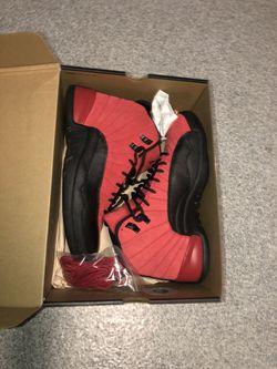 "Jordan 12 "" Reverse Flu Game "" for Sale in Raleigh,  NC"