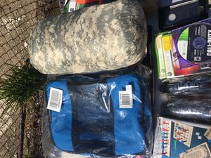 Selling a sleeping bag with luggage bags for Sale in Providence, RI
