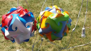 Large Puzzle lamps for Sale in Eau Claire, WI