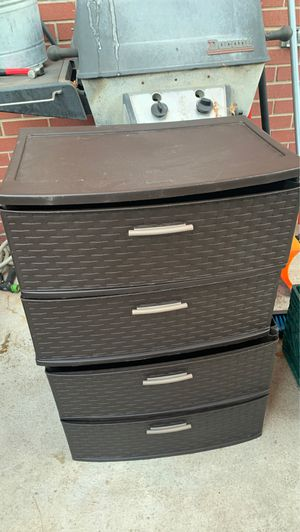 Plastic drawers for Sale in Denver, CO