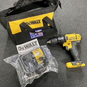 Dewalt DCD780 20v Max Drill, New Battery Charger, Bag, Manual for Sale in Beaverton, OR