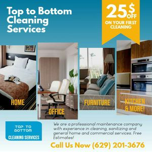 Top To Bottom Cleaning for Sale in Nashville, TN