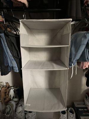 Hanging closet organizer for Sale in Miami Shores, FL