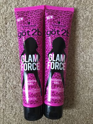 got2b Glam Force Sculpting Gel 2 Pack for Sale in Falls Church, VA