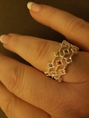 Sterling Silver Multi Stone Ring for Sale in Knoxville, TN
