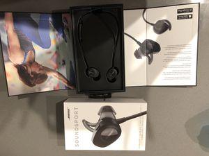 Bose soundsport wireless headphones for Sale in Dallas, TX
