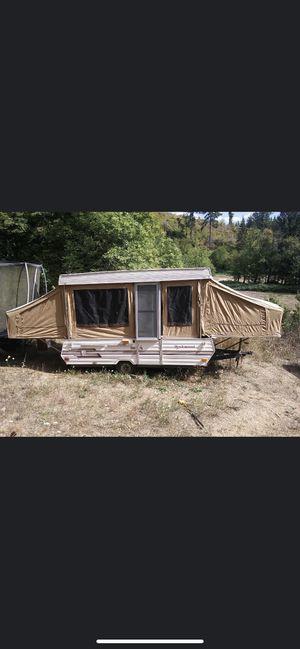 1989 rock wood pop up camper for Sale in Portland, OR