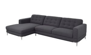 Modani Sectional Sofa with Chaise grey for Sale in Key Biscayne, FL