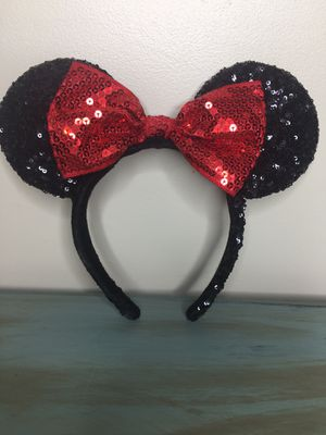 Authentic Disney Minnie Mouse Ears for Sale in Anaheim, CA