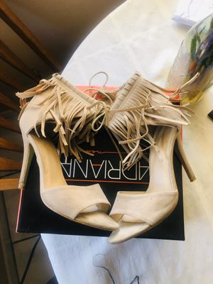 Nude Suede Fringe Heels 7 for Sale in Orlando, FL