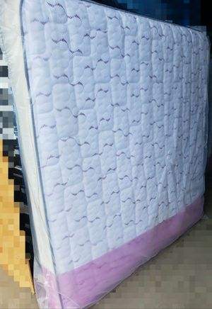NEW KING MATTRESS AND BOX SPRING SET, bed frame not included on price for Sale in Boynton Beach, FL