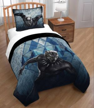 Black panther twin bed blanket and pillow case for Sale in Virginia Beach, VA
