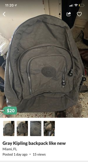 Kipling backpack like new for Sale in Miami, FL