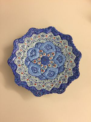 Handcrafted plate. Made in Isfahan for Sale in Ashburn, VA