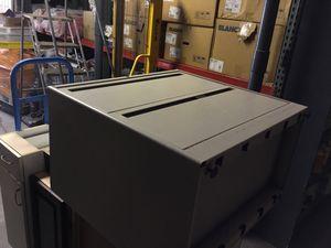 Metal 2 drawer single filing cabinet. Make an offer. Pick up only. for Sale in Las Vegas, NV