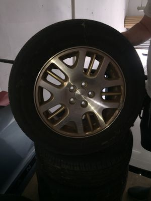 Subaru Tires with Rims (Full Set!) for Sale in Fountain Valley, CA