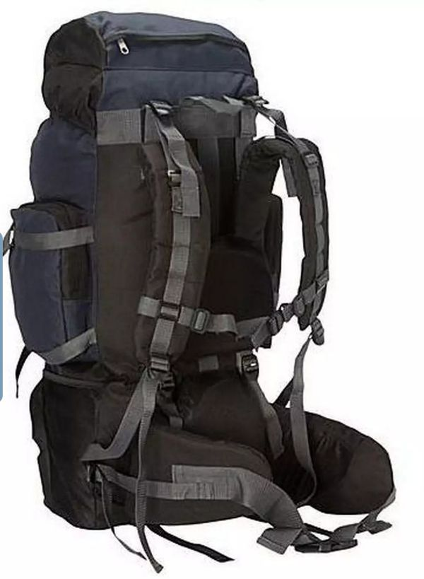 Brand new never used EVEREST Oversized 28-in Metal Frame Travel Camping Hiking Expedition Travel BackPack Bag