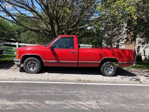 1995 Chevy Silverado will trade for zero turn or walk behind for Sale in Woodbridge, VA