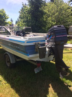 1989 Bayliner boat and trailer for Sale in Hillsboro, OR