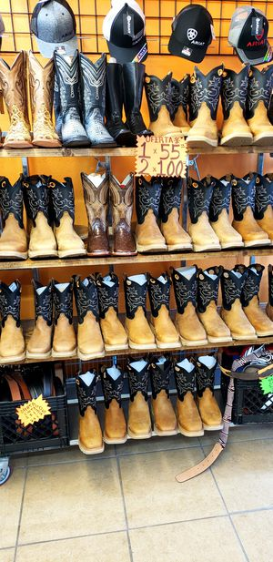 Work boots sale for Sale in Houston, TX