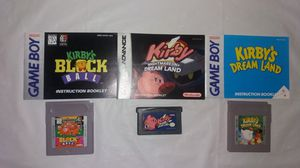 Kirby Game Boy Games for Sale in Downers Grove, IL