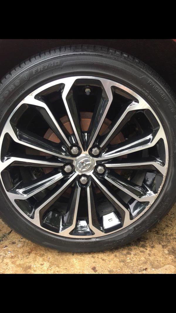 Toyota Corolla Wheels