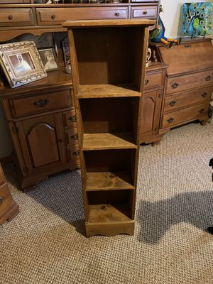Narrow 4 tier shelf for Sale in Rowena, TX