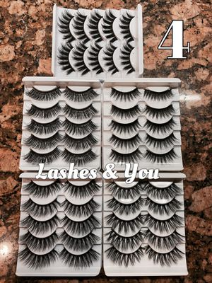 50 Eyelashes 25 pairs Lashes for Sale in Garden Grove, CA