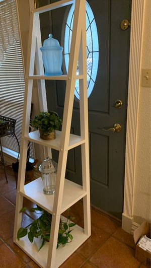 White ladder shelf for Sale in Austin, TX