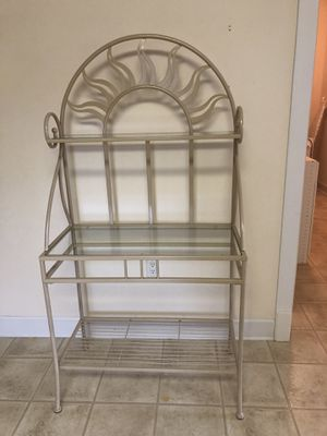 Iron glass shelve for kitchen or storage. for Sale in Hagerstown, MD