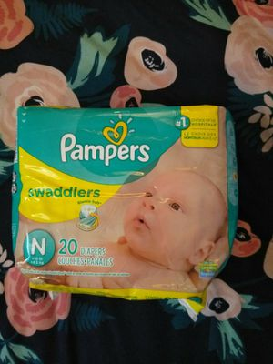Newborn pampers for Sale in Zephyrhills, FL