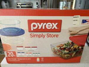 Pyrex 20 piece set for Sale in Miami, FL