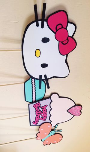 Hello Kitty Birthday Photo Props for Sale in Chula Vista, CA