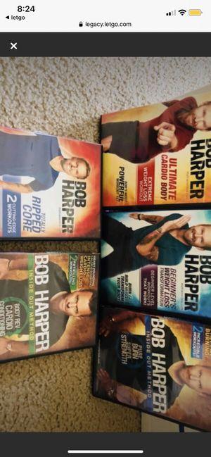 5 bob harper exercise videos for Sale in Trenton, MI