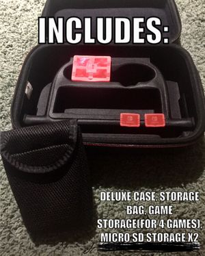 Nintendo Switch deluxe travel case for Sale in Tampa, FL