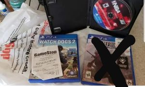 Watch dogs2 and 2k16 for Sale in Willow Spring, NC