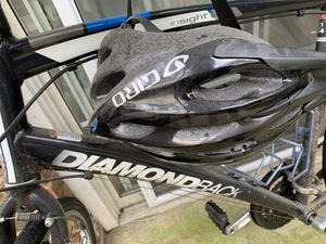 Diamondback bike pump and helmet for Sale in Atlanta, GA