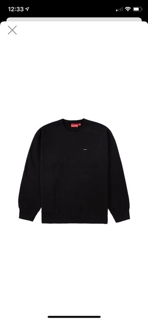 Supreme small box logo crew neck size large for Sale in Lawndale, CA