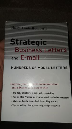 Strategic business letters and e-mail for Sale in Covina, CA