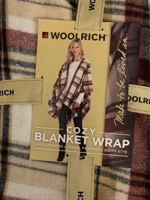 Woolrich Blanket wrap for Sale in Visalia, CA