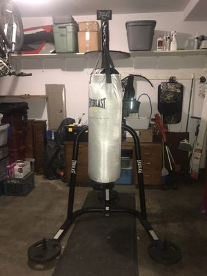 Everlast Dual Station Heavy Punching Bag & Speed Bag for Sale in Olympia, WA