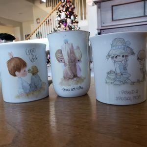 Precious moment cups for Sale in Lake Elsinore, CA